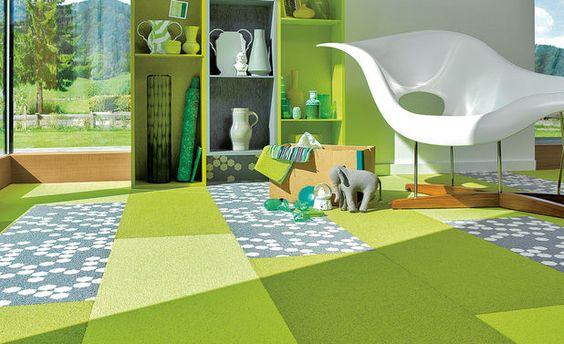Neu: Teppichboden zum Klicken