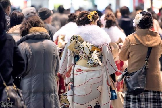 Coming Of Age Day in Japan Kimono (145)