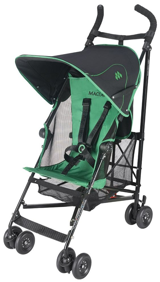 Maclaren Volo - Black/Jelly Bean Green | Green, Strollers and ...