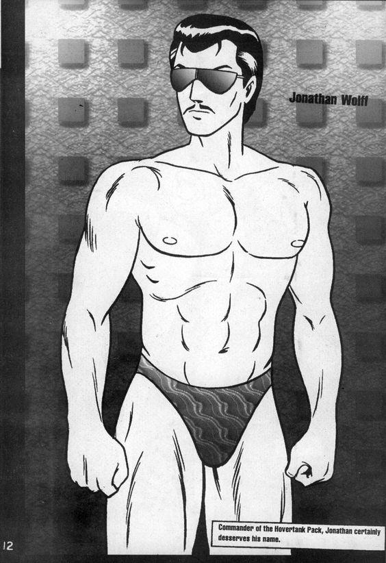 ジョナサン・ウルフ (画像資料) - ロボテック・クロニクル - livedoor Wiki(ウィキ)