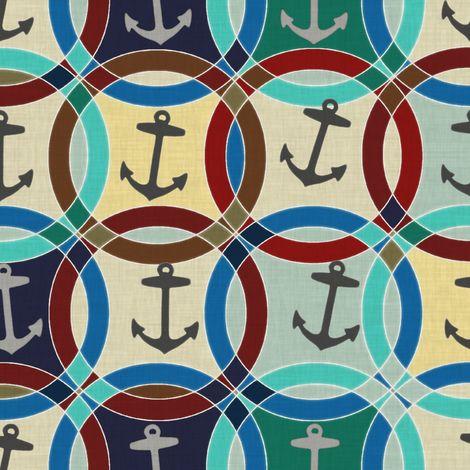 anchors fabric by scrummy on Spoonflower - custom fabric