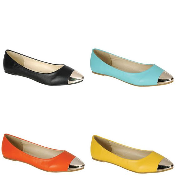 Women's Flats in Vivid Candy Colors. Ballet Flats by glamshoetique