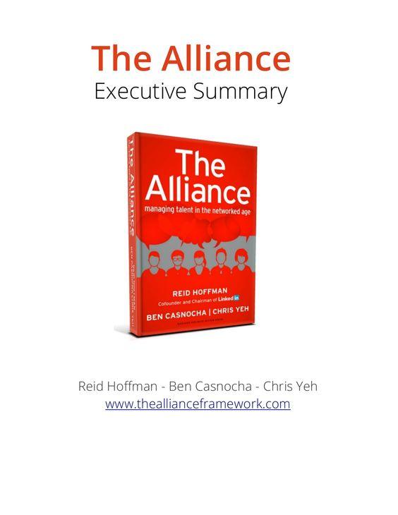 06 the alliance - executive summary by maosongppt via slideshare - an executive summary
