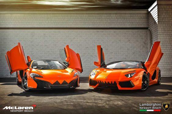 orange-supercar-duo-goes-trick-or-treating-with-halloween-pumpkin-look_1