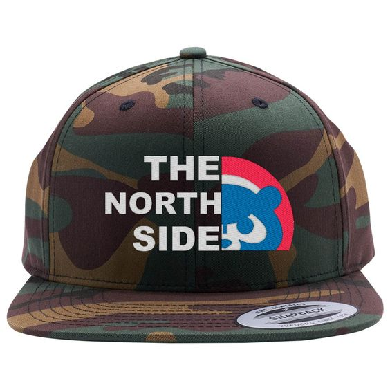 The North Side - Cubs Embroidered Snapback Hat