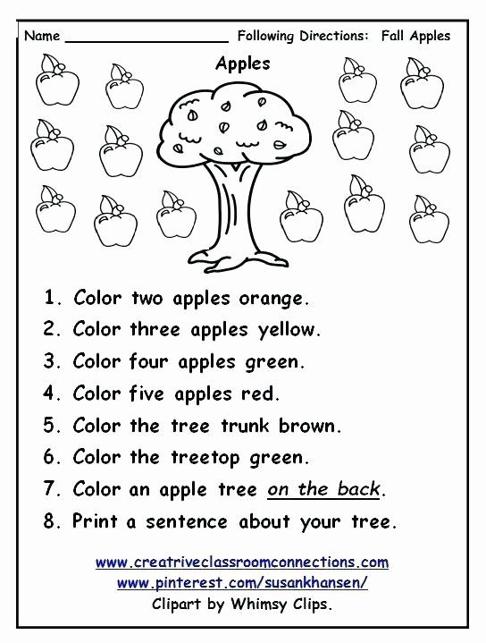 Following Directions Printables Following Directions Worksheet Follow Directio In 2020 Follow Directions Worksheet Kindergarten Worksheets Kindergarten Math Worksheets
