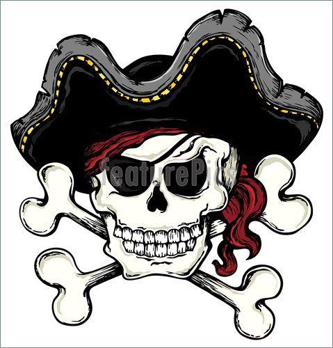 Halloween Skull Vintage Pirate Skull Theme 1 Vector Illustration Pirate Skull Pirate Pictures Skull Drawing