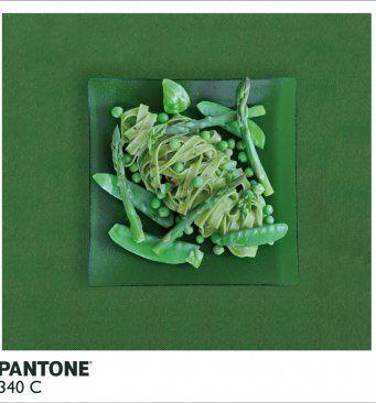 Comidas inspiradas em cores da Pantone :)