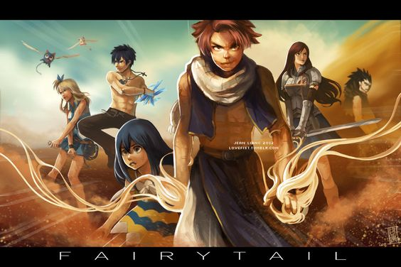 AH, SENSES OVERLOAD. lol finally finished the secret Fairytail poster haha. I tried to go for something epic... but dunno ehhh oh man. There are too many painting styles conflicting in this since I...