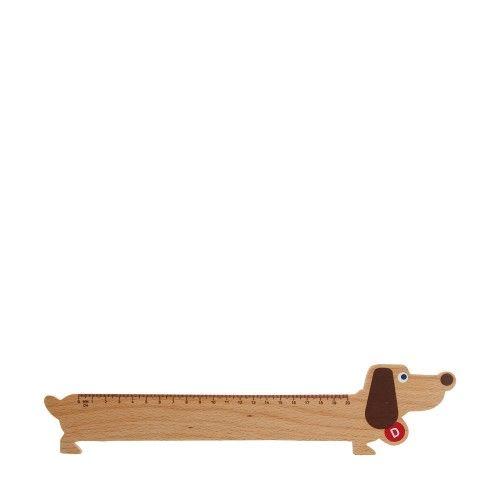 """DONKEY Wooden ruler """"dog"""""""