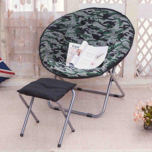 Wwh Moon Chair Sun Lounger Lazy Chair Radar Chair Recliner Folding