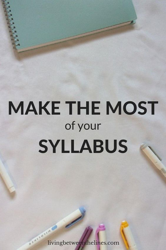 Syllabus week is so boring, but using your syllabus right is the key to a successful ... - http://goo.gl/uujLUa