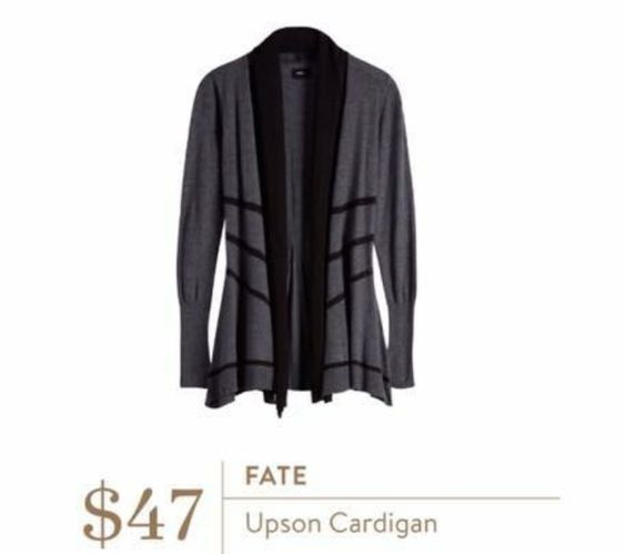 Stitch Fix stylist - Love this cardigan. I think the length and the way the waste is fitted would fit me well.