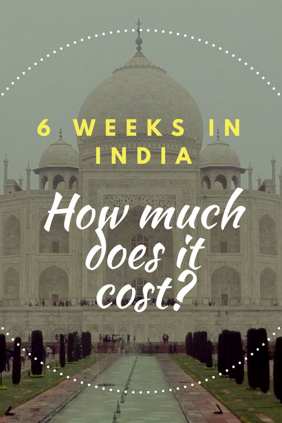 India is a perfect backpacker destination - Find out how far your money goes in India and much it costs to travel on a budget in this fascinating country