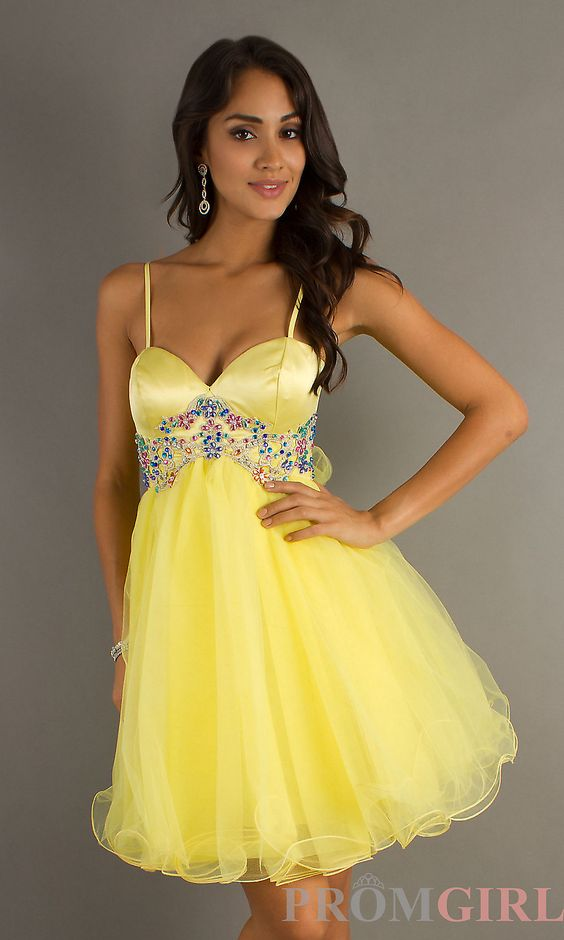 yellow dresses | ... Celebrity Dresses, Sexy Evening Gowns at ...