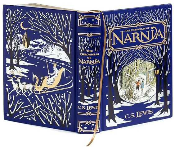 Narnia. What a beautiful cover.: