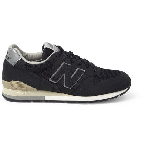new balance beams plus 996 nubuck and mesh sneakers