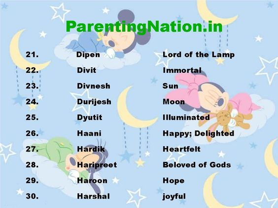 Select Best Name For Your Lovely Baby  From The List Of Names Of Kark Rashi Baby Boy Names With Meanings Like Dyutit Means Illuminated, Harshal Means joyful. Brought To You By ParentingNation.in.