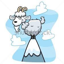 Resultado de imagen de dibujos de cabras montesas