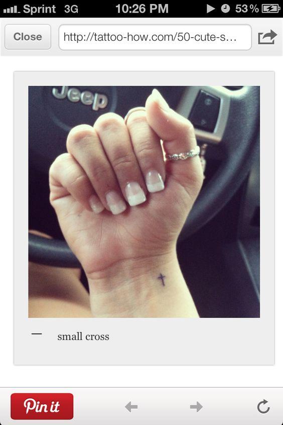 Small wrist tat
