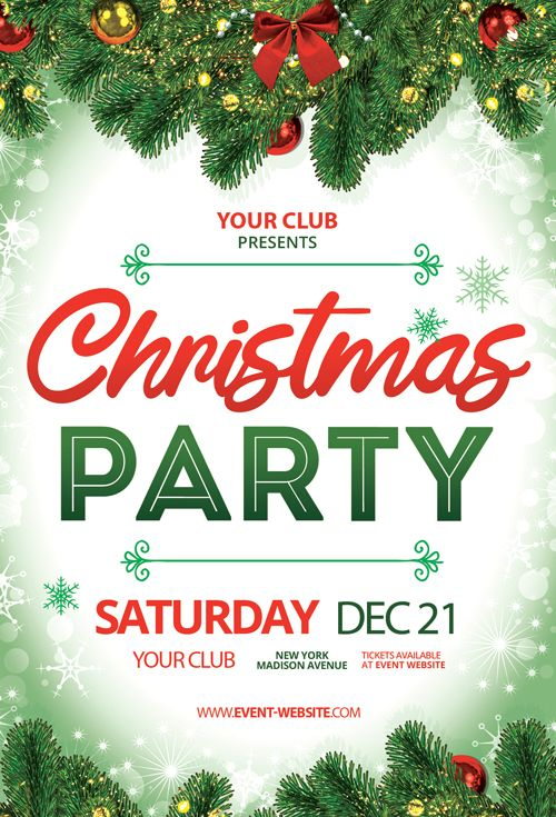 Check Out The Christmas Party Event Free Flyer Template Only On Https Freepsdflyer Com Christmas Free Psd Flyer Templates Free Psd Flyer Free Flyer Templates