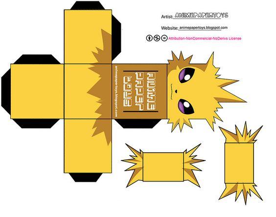 JOLTEON Cubeecraft Pinterest Photos Et Pokmon