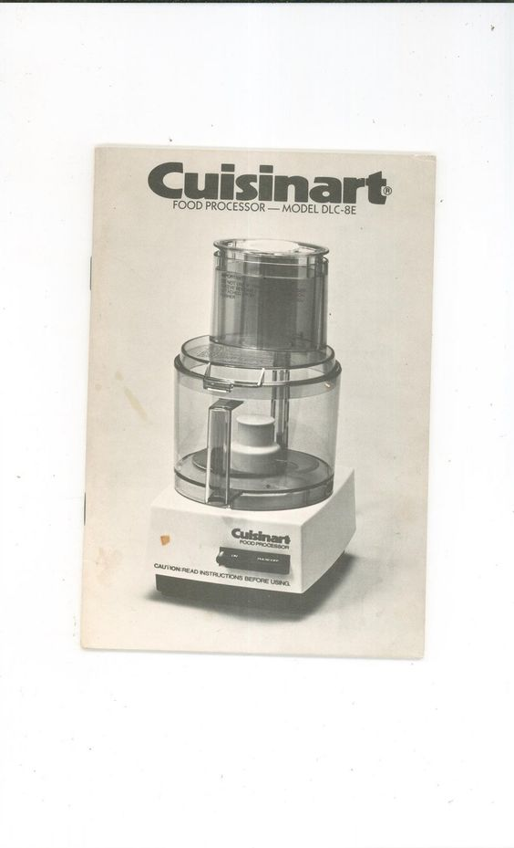 Cuisinart model dlc 8e instruction manual and recipes cookbook not cuisinart model dlc 8e instruction manual and recipes cookbook not pdf available today forumfinder Choice Image