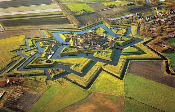 Bourtange, La fortaleza de la estrella, Holanda