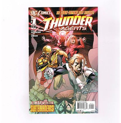 THUNDER AGENTS (v2) Great 6-part Modern Age series from DC Comics! NM http://r.ebay.com/UClh6k