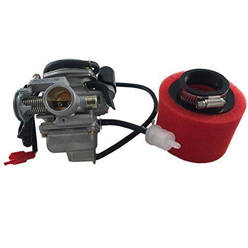 Mx M Pd24 Carburetor W Air Filter For 152qmi 157qmj Gy6 1 Https Www Amazon Com Dp B0753jvg63 Ref Cm Sw R Pi Dp U X Wgydabfyxhb Air Filter Carburetor 150cc