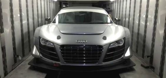 Video: First Audi R8 LMS ultra in USA continues testing