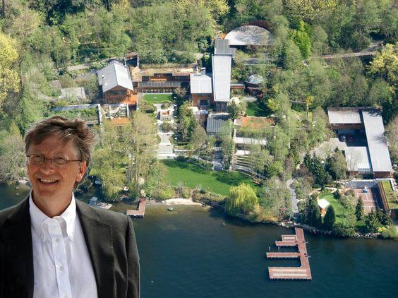 Bill Gates House 8 7 Million Dollars Tour Home And Garden Bill Gates S House Celebrity Houses Bill Gates