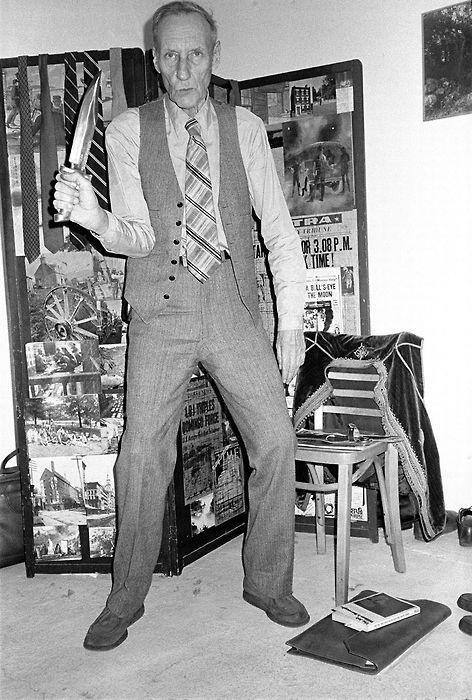 William s. Burroughs... founder of the Beat Generation and Godfather of Punk.