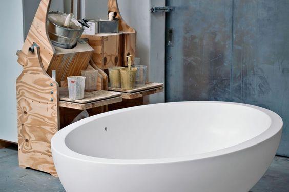 Hasenkopf Industrie Manufaktur   Badewanne aus Corian von DuPont