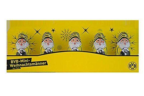 Borussia Dortmund Massiv Weihnachtsmanner 5er Pack Bvb 09 Weihnachtsmann Kerzenschein Dortmund