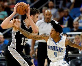 Blog Esportivo do Suíço:  Com Pau Gasol inspirado, Spurs batem Magic em jogo de viradas em Orlando
