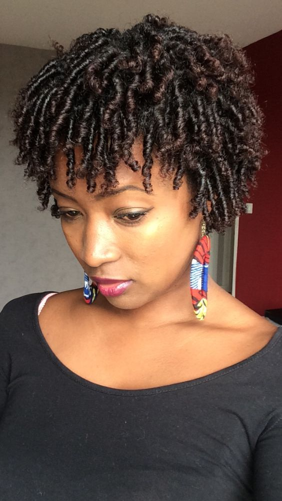 40 Short Natural Hairstyles For Black Women Natural Hair Twists Natural Hair Styles Short Natural Hair Styles