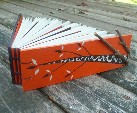 Autumn Twigs  handbound notebook  recycled and by MyHandboundBooks, $18.00