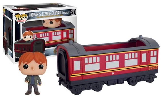 >21 Hogwarts Express Carriage w/ Ron Weasley Funko Pop