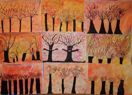 """Die """"Gespensterbäume"""" der 1. NMS"""