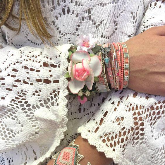 Twinspink romantique bracelets bijoux et bracelets - Style boheme romantique ...