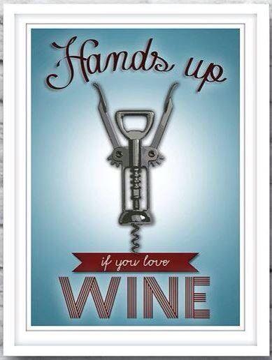 Manos arriba si te gusta el vino!