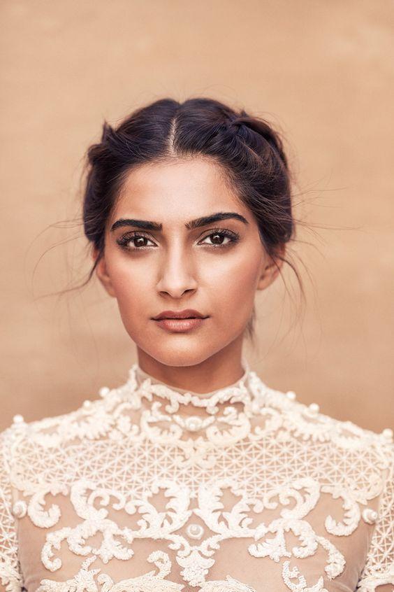 Sonam Kapoor - makeup