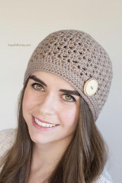 Spiced Nutmeg Hat - Giveaway + Crochet Pattern: