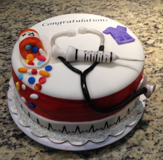 Nurse graduation cake. Cake Pinterest Nurse cakes ...