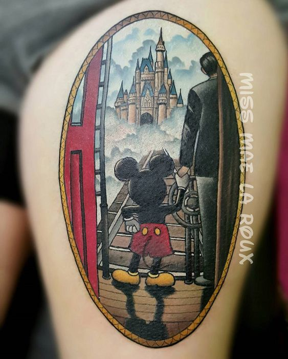 Walt Disney & Mickey Mouse ... - Tattoo Ideas