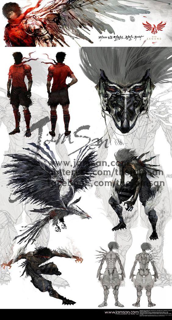 Nike CF_the Phoenix Ji-sung Park episode_concept art
