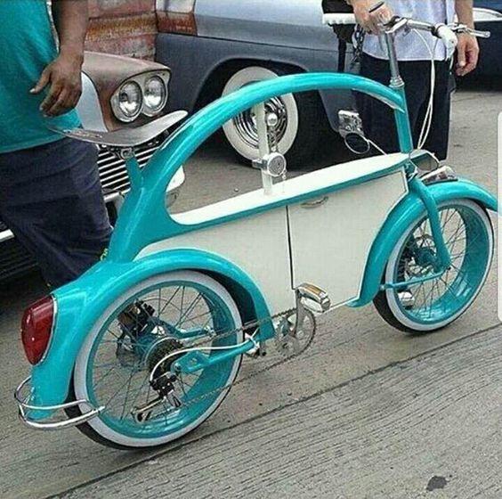 Cleta tipo carrito