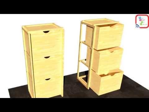Rak Susun 3 Sederhana Bisa Bongkar Pasang Wood Deco Wood Deco