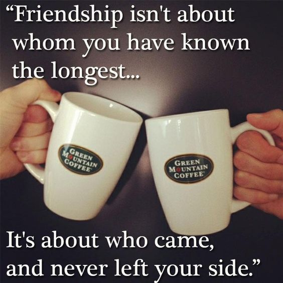 Do you have any best friends who are fans of Green Mountain Coffee too? #coffee #friends #share #bestfriend #cheers